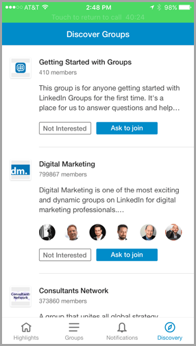 privacy of groups for changes to Linkedin groups