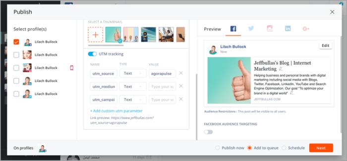 Agorapulse for influencer marketing strategy