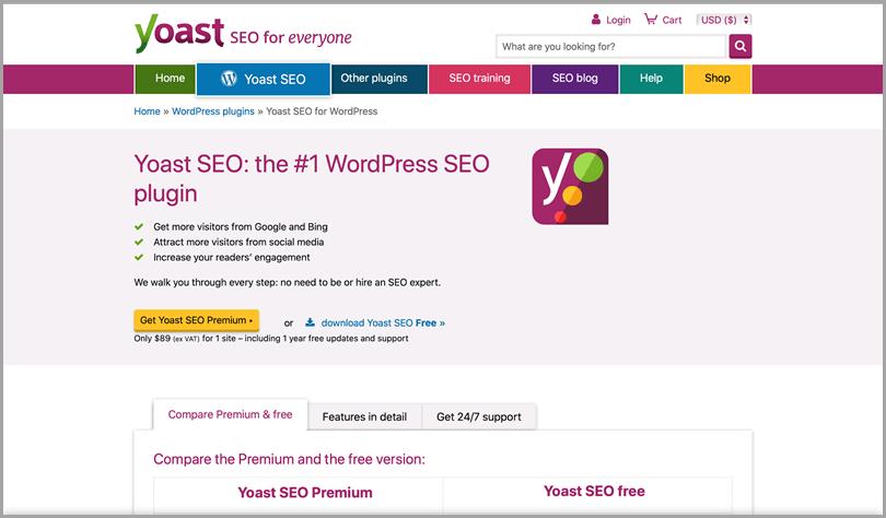 YoastSEO #1 WordPress SEO plugin for everyone seo tools