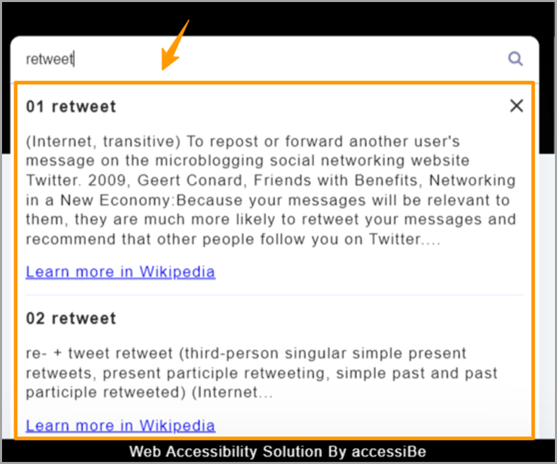Web-Accessibility-Tweets