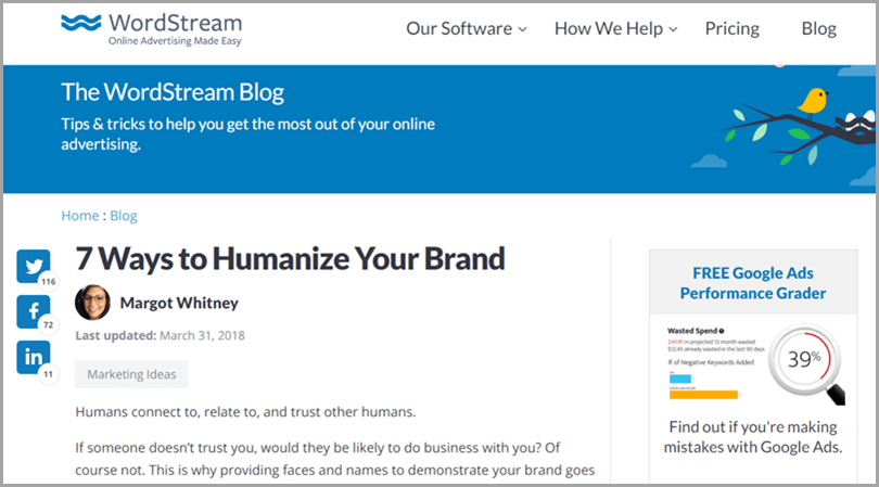 7-Ways-to-Humanize-Your-Brand-The-Wordstream-Blog-Content-Marketing