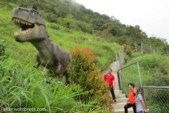 At Dinosaurs Island.