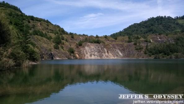 Lubo Lake in Brgy. Lubo, Kibungan