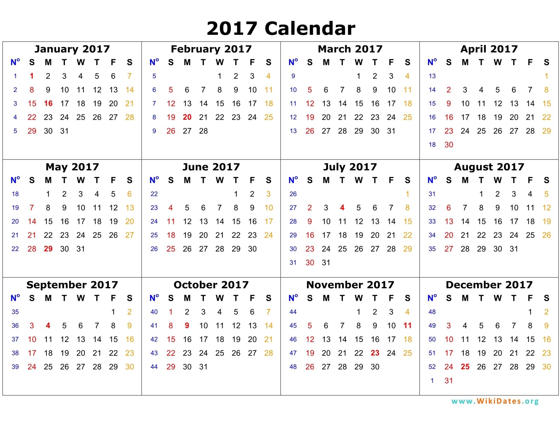 General Meeting Schedule -