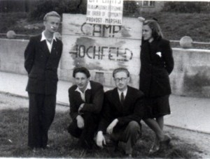 Vitauts at Camp Ochfeld, Germany circa 1946
