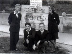 Vitauts at Camp Ochfeld, Germany circa 1946