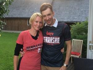 Husker Power in Latvia!