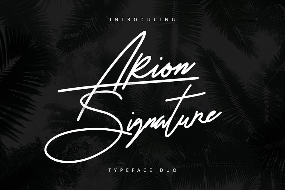 Download 18 Signature Fonts For The Perfect Signature