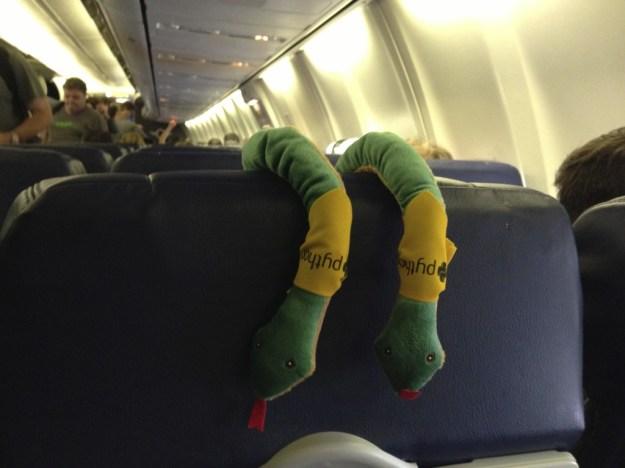 Pythonic Snakes on a Pythonic Plane