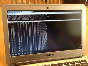 Samsung Chromebook SSH