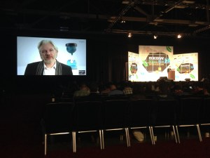 Julian Assange at SXSW 2014