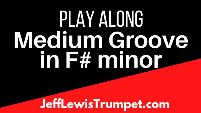 Medium Groove in F# minor