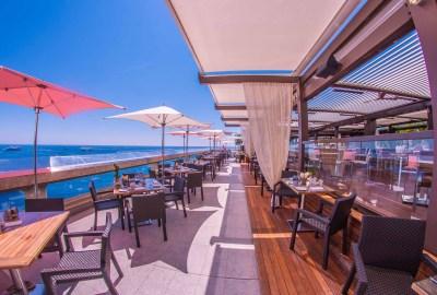 Fairmont Monaco Horizon deck pink sunday Photographe Region Cannoise Photographe Interieur