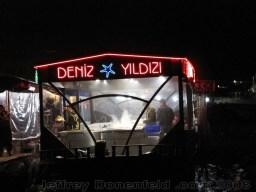 Dinner boat on the Bosphorus