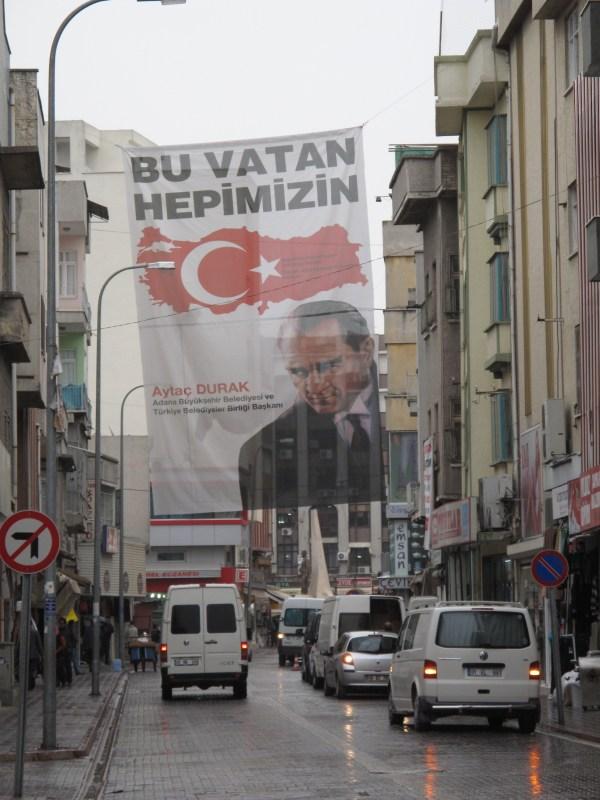 Ataturk in Adana