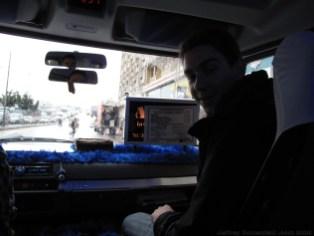 Taking the dolmush from Adana to Antakya