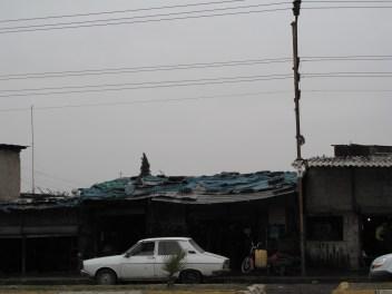 Dilapidated houses in Adana