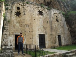 St. Peters hidden Catholic church in Antakya - built into a natural cave