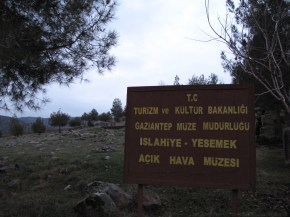 The Hittite rock musieum in Yesemek
