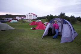 Camping in Myvatn