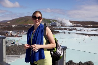 Sari at the Blue Lagoon