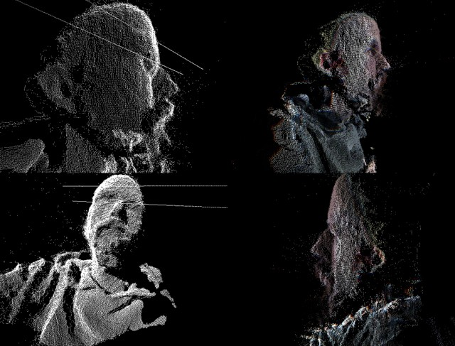 Kyle McDonald Kinect Pointcloud