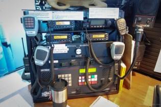 One of the radio stacks