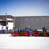 The Amundsen-Scott South Pole Station, Antarctica Summer 2012-13 Station Crew Photo