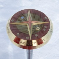 Published on the Antarctic Sun: The 2013 Geographic South Pole Marker Dedication