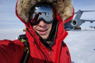 Landed at McMurdo Station, Antarctica on the sea ice runway.