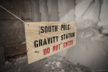 The ice tunnel's mysterious Gravity Station.