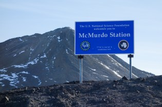 I stayed at McMurdo for only one day before flying back to New Zealand.