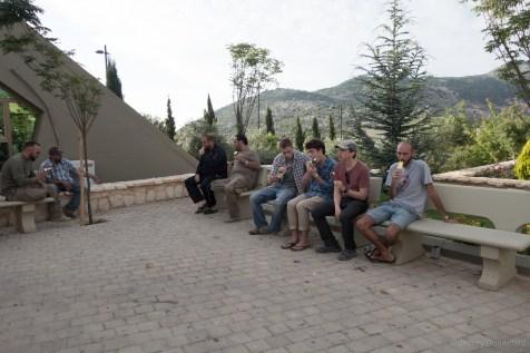 """Checking out the """"Mleeta Tourist Site"""", aka the Hezbollah Museum."""
