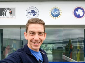 Exploring the offices of the International Antarctic Centre