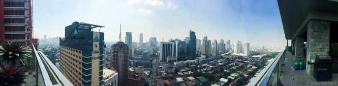 Downtown Manila. I stayed at a hotel in Makati, which was interesting enough for four days. Manila is a huge, congested city, and Makati provided a good amount of walkable entertainment.