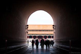Entering the Forbidden City