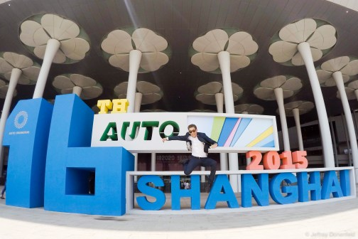 My timing in Shanghai was perfect for the Shanghai Auto Show -which was horribly overcrowded. I lasted about an hour, and then had to leave - it was madness pushing through the masses to stand in line to see a random crappy car. And no models!