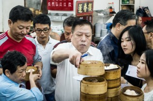 Hong Kong has great dim sum, and this place was no exception. People clamor for the fresh baskets as soon as they come off of the steamer.
