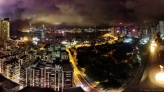 My first night in Hong Kong, I had a quick drink at a rooftop bar, giving me a great intro to the cityscape. Hong Kong is great!