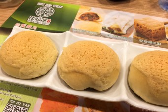 The tastiest pork buns at Michelin-starred Tim Ho Wan. This Dim Sum restaurant is in the Hong Kong subway station, and despite its location and cheap prices, it's really really great. Again, I can't wait to go back here.