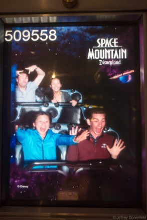 Space Mountain - second time!