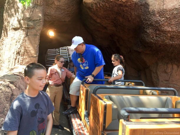 Evacuating Thunder Mountain.