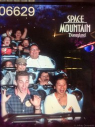 Space Mountain - first time!