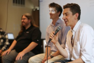 Jeffrey Donenfeld moderating boulder startup week photography panel