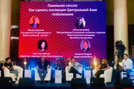Jeffrey Donenfeld Entrepreneurship Panel GoViral Kazakhstan - 2
