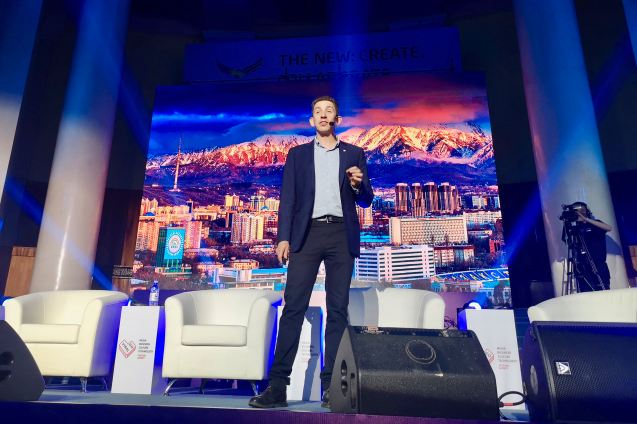 Jeffrey Donenfeld's Keynote Speech at GoViral Almat Kazakhstan 5