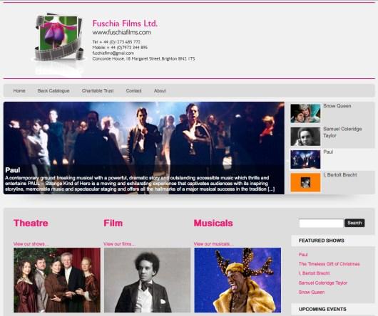 Fuschia Films Website