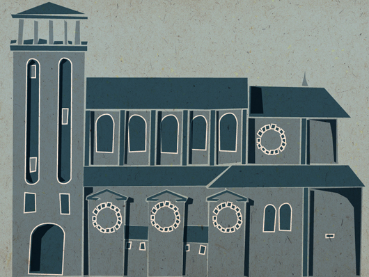 Illustration of St Peters Church, Portland Road, Hove