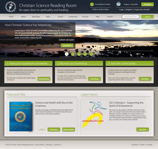 Christian Science Online Reading Room