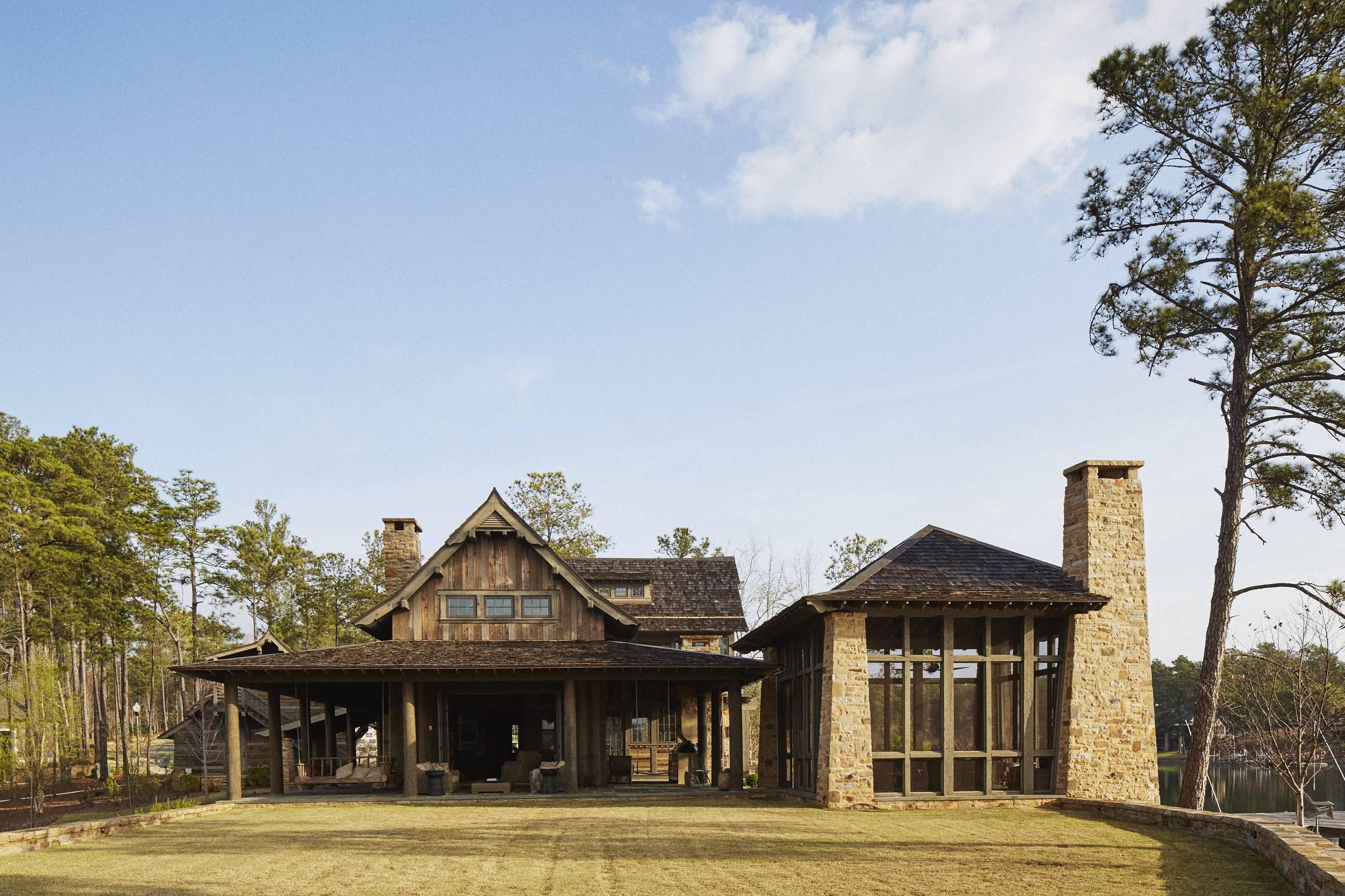 A True Retreat Home At Lake Martin Jeffrey Dungan Architects